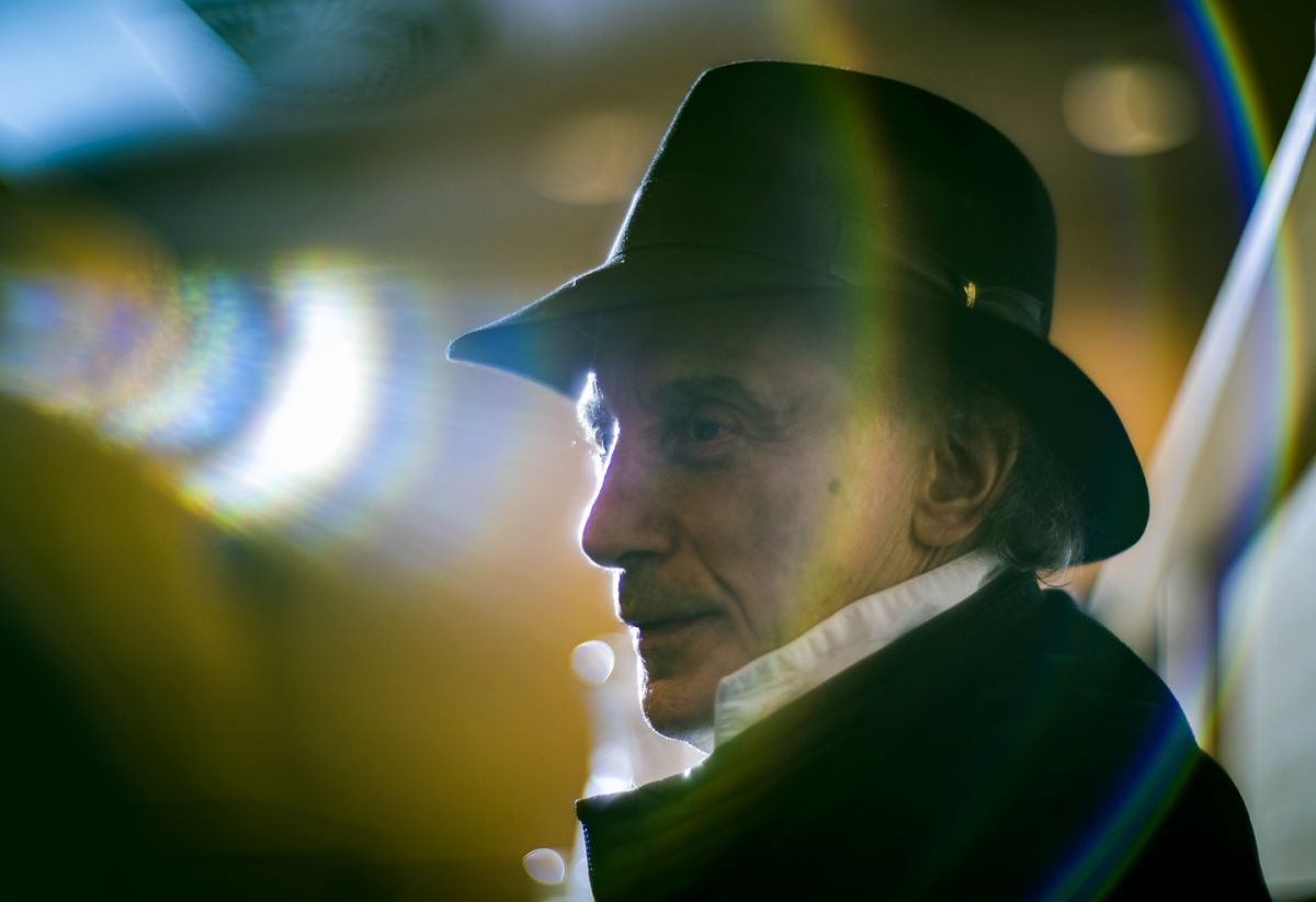 Ed Lachman, ASC. We're all just basking in his light.