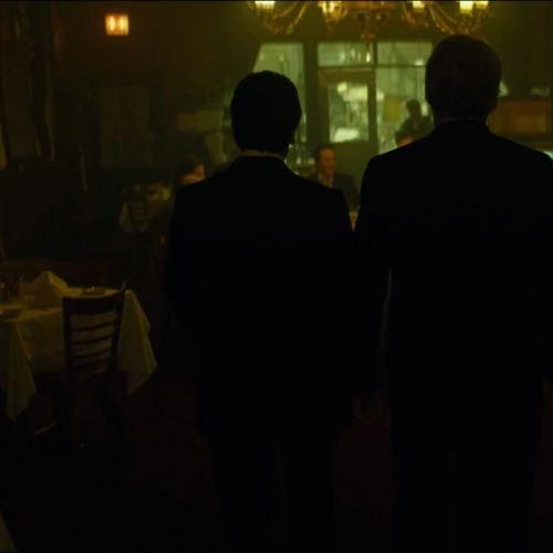 A Most Violent Year - restaurant interior