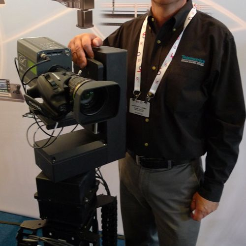 Anthony Cuomo from Telemetrics with Televator  -thefilmbook
