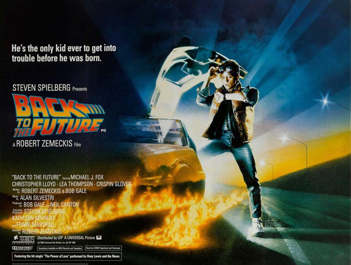 Back to the Future - Quad Poster (Universal Studios, 1985)