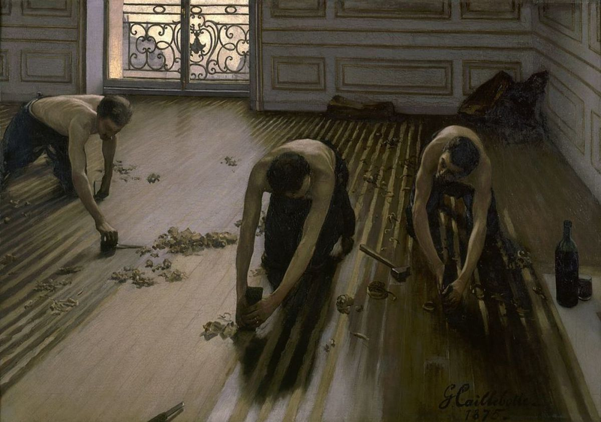 The Floor Scrapers (Les raboteurs de parquet)