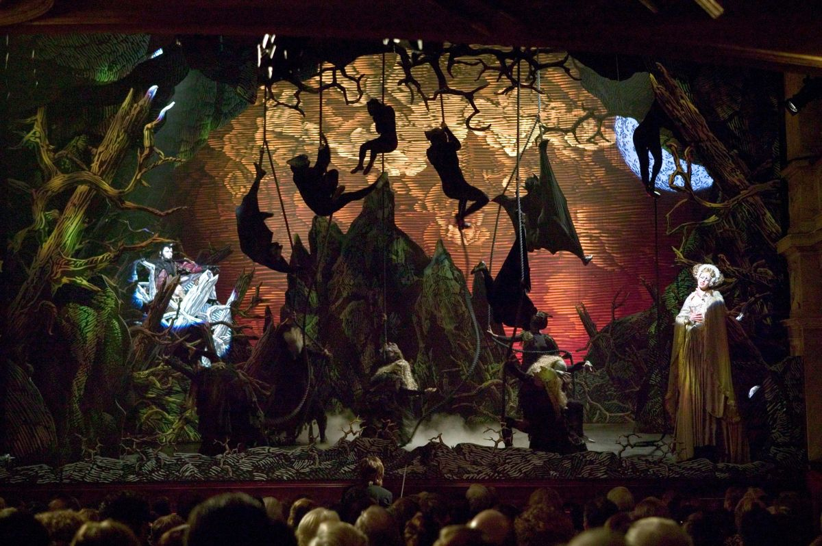 An operatic scene that suggests the inspiration for the Dark Knight persona. Pfister brought an equally obsessive focus to his own work on the picture, which is designed to reinvent a Warner Bros. franchise from the 1990s.