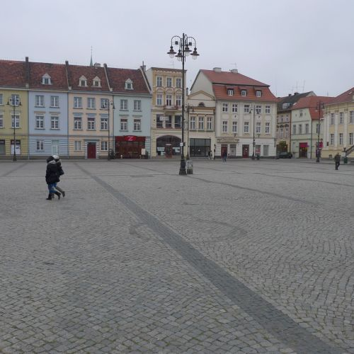Bydgoszcz - square in old city