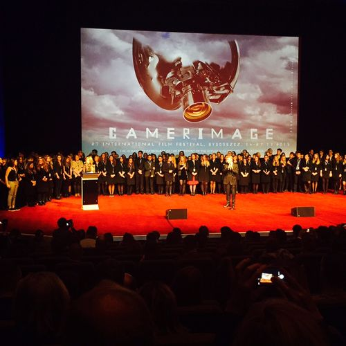 Bravo to the 2015 Camerimage Staff and Volonteers -photo Stephen Pizzello