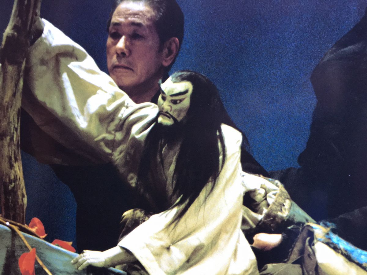 A Bunraku production
