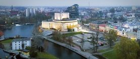Camer Image 17 Establishing Poland Bydgoszcz Panorama 1 Opera House City Center Featured
