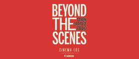 Canon Beyond The Scenes Banner