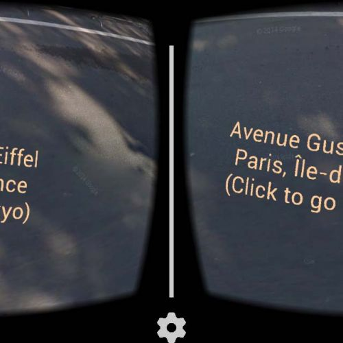 Cardboard app 3 - Look down to change city 2 -thefilmbook