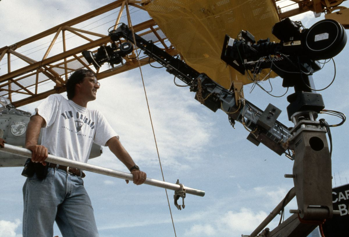 Carpenter during the complex production of True Lies.