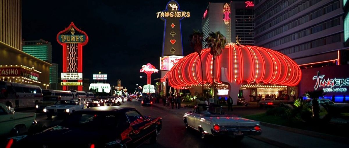 Scorsese's period vision of the Vegas Strip — enhanced with visual effects by Matte World Digital.