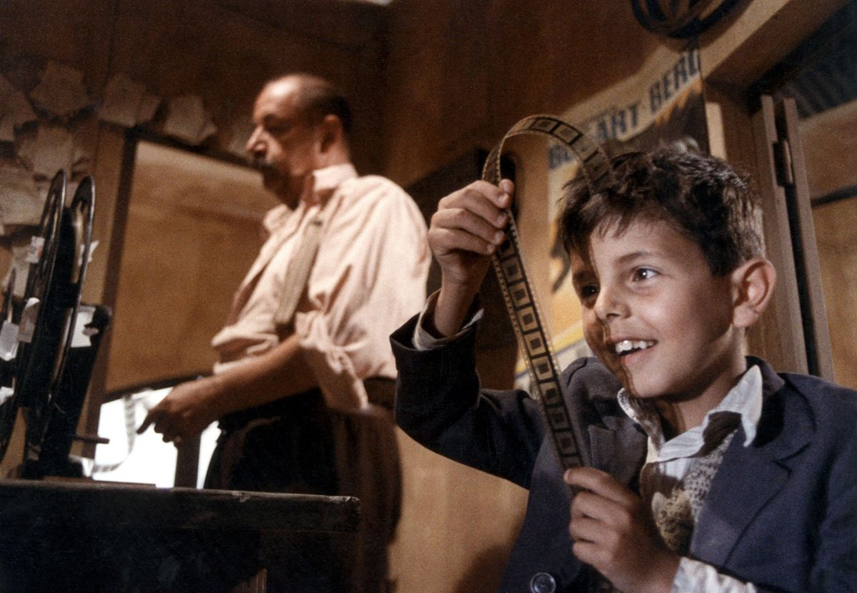 Experiencing the magic of film in Cinema Paradiso. (Photo courtesy of Alamy)