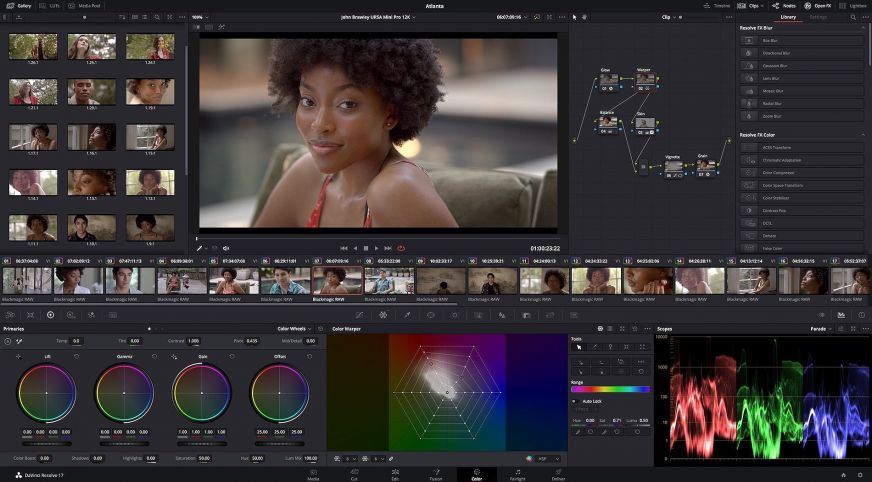Da Vinci Resolve 17 Color