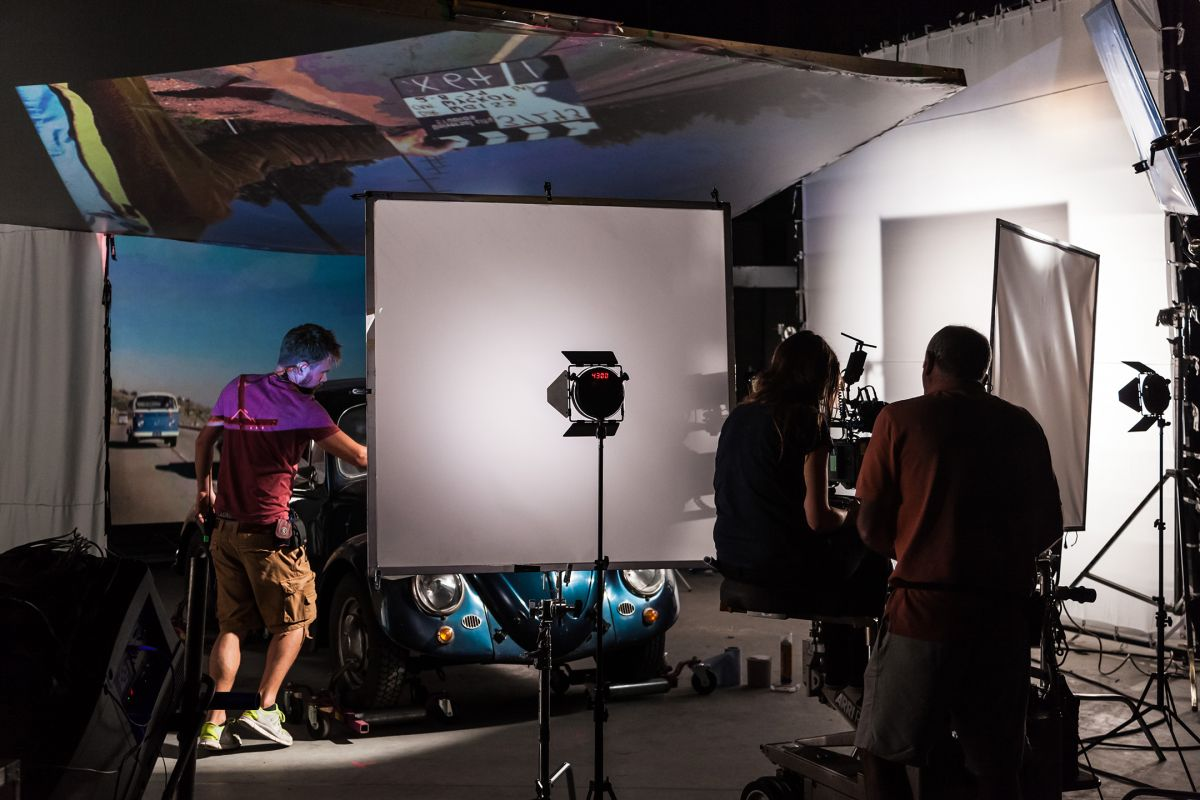 "Executing the extensive rear-projection driving scenes, ""the Rotolight NEOs were an interesting addition to supplement the lighting package,"" says Lange. ""The ability to select SFX modes helped give the lighting a more 'dynamic' feel. For instance, in driving scenes where Urszula [Pontikos] had moving lamps, we used NEOs as some of the static lights using the flicker effect in the SFX suite to help create that scene-changing effect. The Designer Fade feature was particularly useful to fade up from zero output to 100 percent and back again to zero. It allowed a handheld lamp to be moved and create a shifting shadow — but with a source that came from nowhere, and simply went away again."""