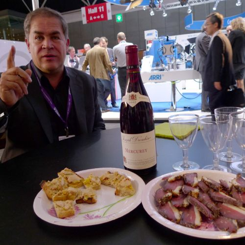 French victuals at Transvideo booth -thefilmbook