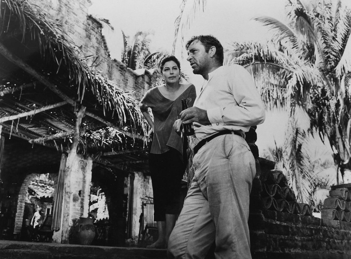 Ava Gardner and Richard Burton in The Night of the Iguana (1964), which was hailed as one of the best movies ever made from a Tennessee Williams play.