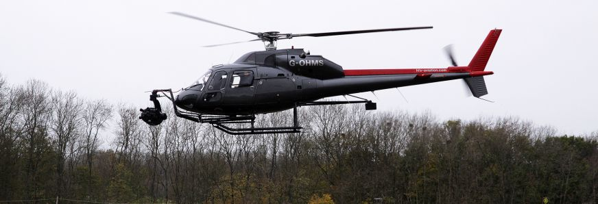 Hfs Helicopter In Flight