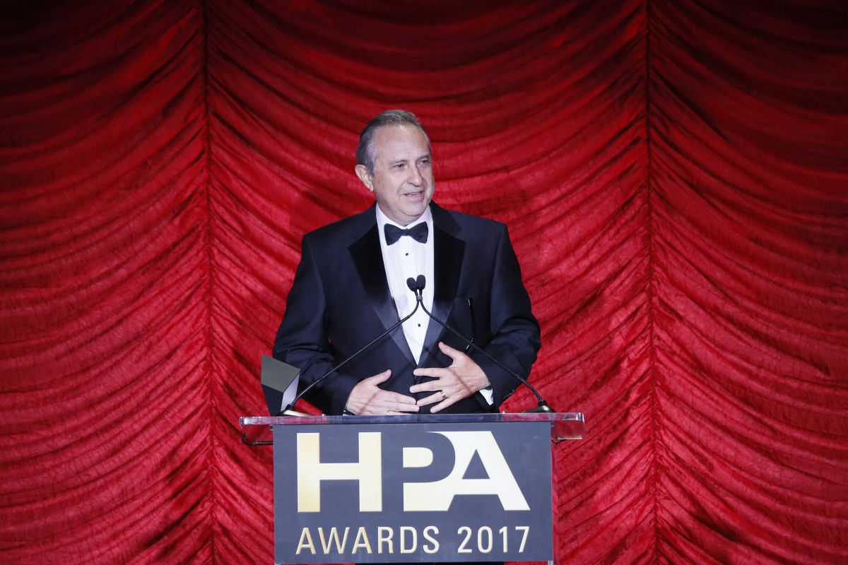 HPA Lifetime Achievement Award honoree Larry Chernoff.
