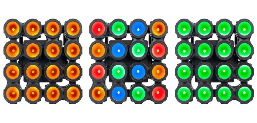 Header Elation Lighting Cue Pix 16 Ip Led Rgba