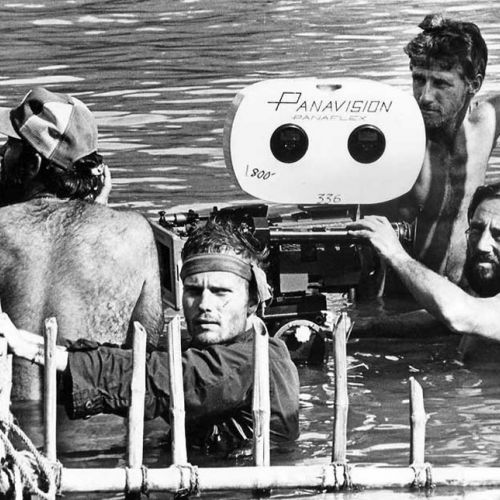 John Savage Vilmos Zsigmon and crew on The Deer Hunter