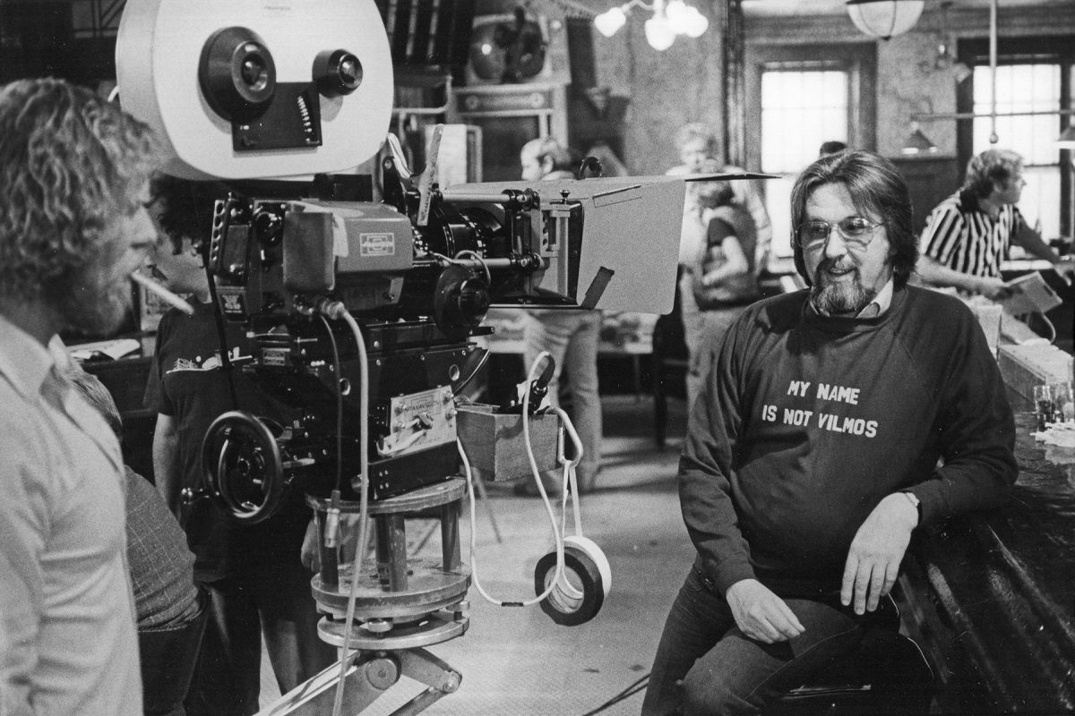 """During the filming of Inside Moves (1980), directed by Richard Donner, Kovács wears his famous T-shirt. As the reputations of Kovács and Zsigmond grew in Hollywood, it was often said, """"Get either one of the Hungarians. They both know what they're doing!"""""""