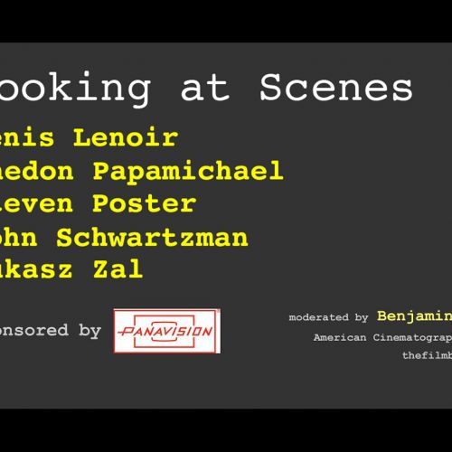In this Panavision Seminar, DPs screened & discussed scenes from their movies