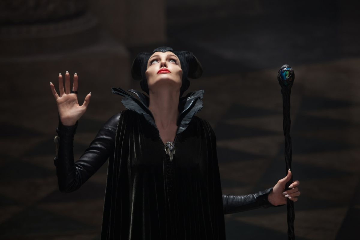 Maleficent summons her dark powers.