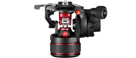 Manfrotto Video Head Nitrotech Mvh608 Ah Front No Panbar