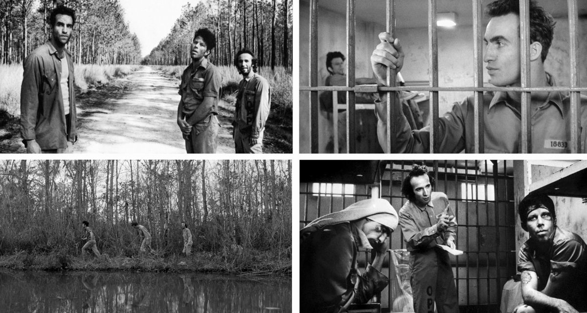 The comedic indie prison break tale Down By Law features languid black-and-white cinematography that reflect the mood of both the director's storytelling style and its Louisiana bayou and New Orleans locations. Müller would later re-team with Jarmusch on Mystery Train (1989), Dead Man (1995) and Ghost Dog: The Way of the Samauri (1999).