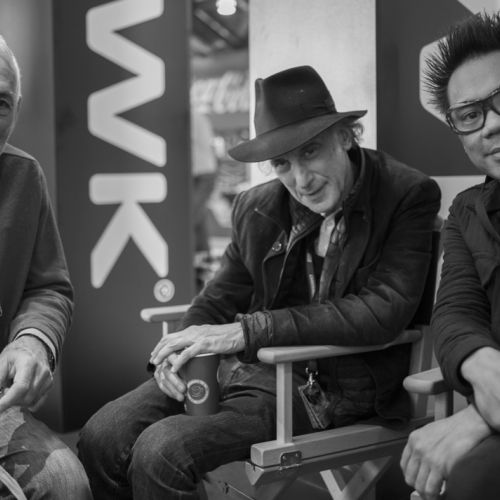 Nigel Walters, Ed Lachman, Matthew Libatique (photo CW Sonderoptic staff)