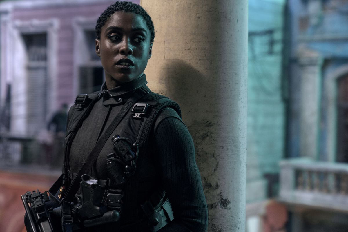 Nomi (Lashana Lynch) is the franchise's newest double-0 agent.