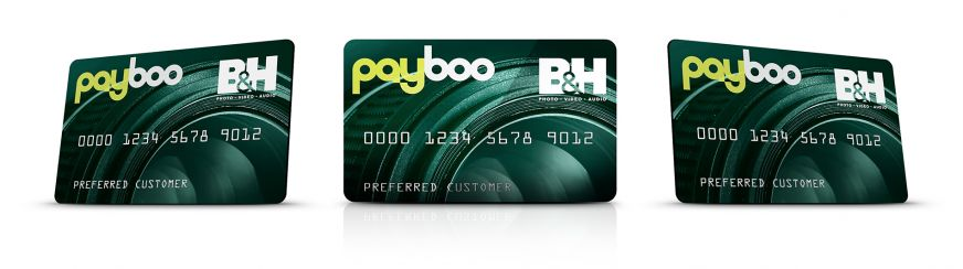 Payboo Card All Angles