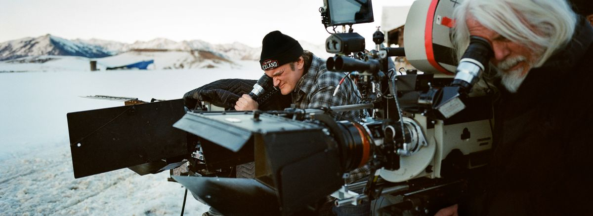 Tarantino and Richardson on The Hateful Eight.