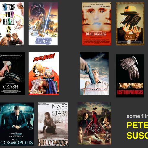 Some films by Peter Suschitzky