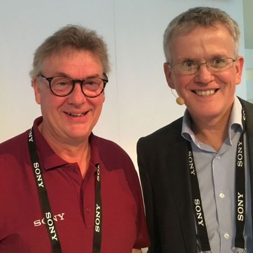 sony's Richard Lewis and Peter Sykes -thefilmbook