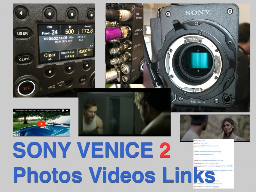 Sony Venice 2 Photos Videos Links Thefilmbook