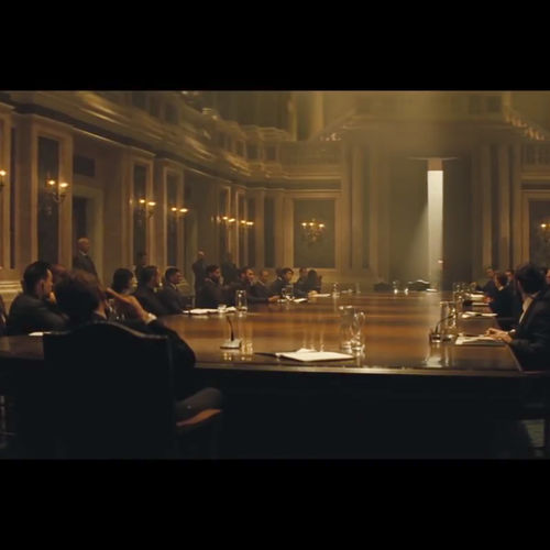 Spectre Grand Hall Meeting 2 -from trailer