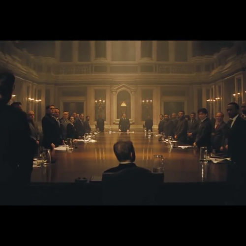 Spectre Grand Hall Meeting 3 -from trailer