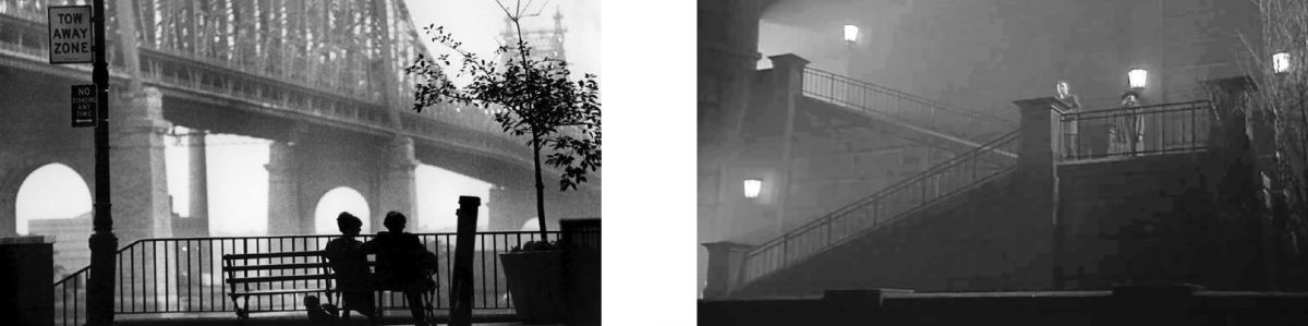 Images 06 - Woody Allen's Manhattan and 07- Woody Allen's Shadows and Fog