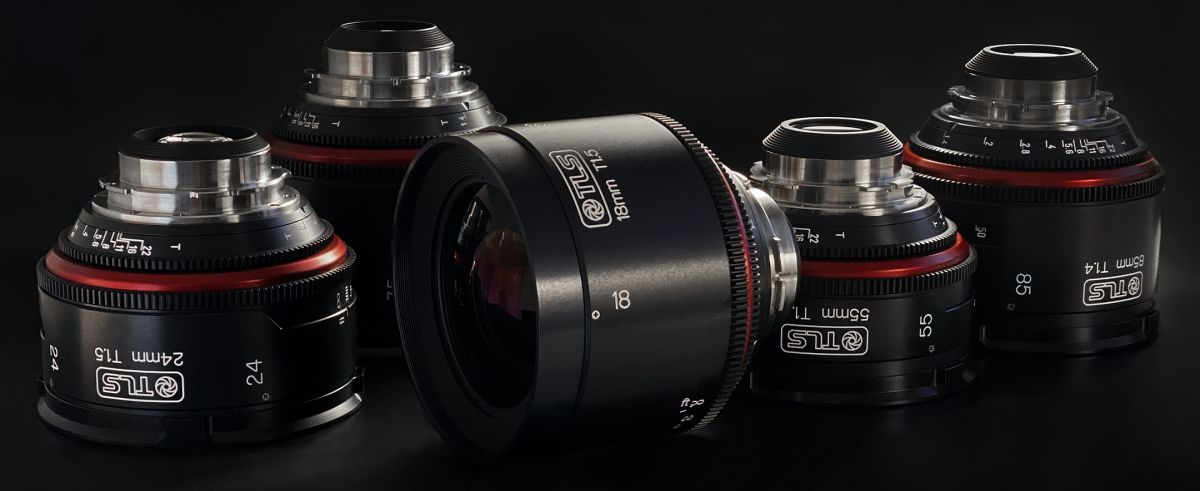In comparison to the Zero Optik lenses above, these Canon K-35 lenses were rehoused by True Lens Services from England. Both companies offer cam-style movement, new irises and PL mount. Zero Optik is 95mm front diameter, while TLS' housings have 110mm fronts.
