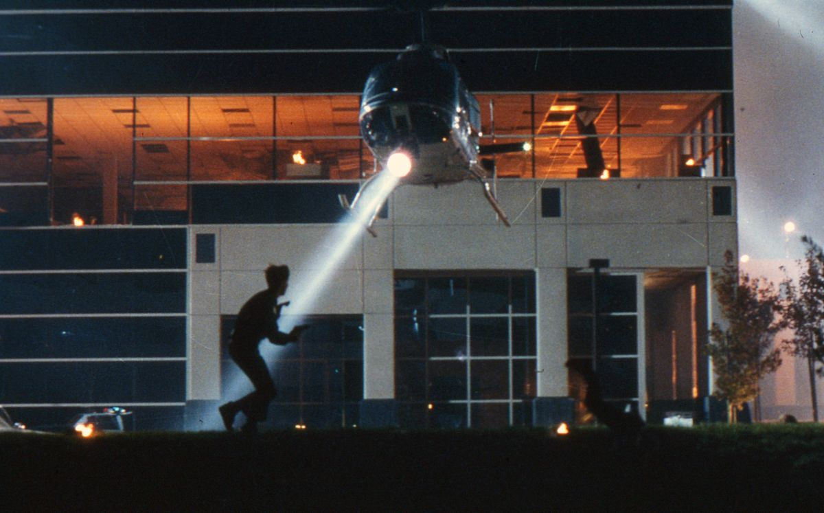 Exteriors for the shootout at the Cyberdyne Systems office building were filmed in San Jose.