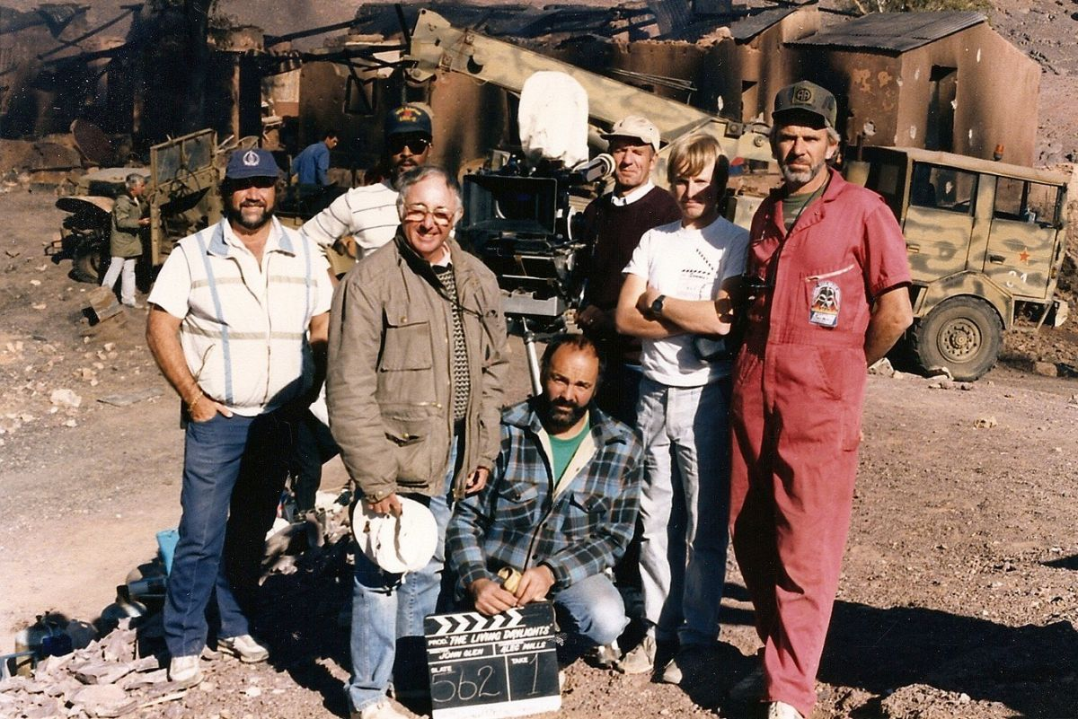Mills and his camera team.