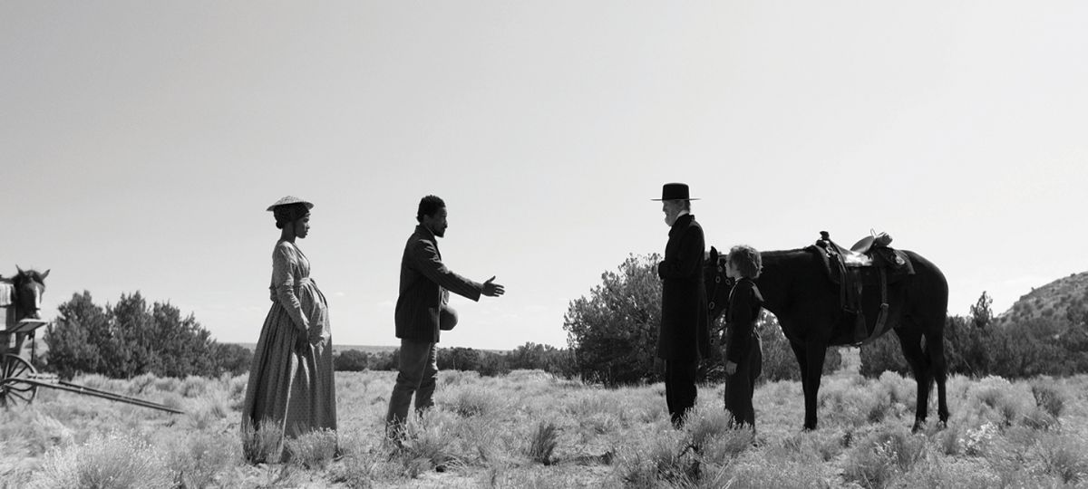 """Set in the 19th century, Episode 9 (""""Covenant II"""") is presented in black-and-white."""