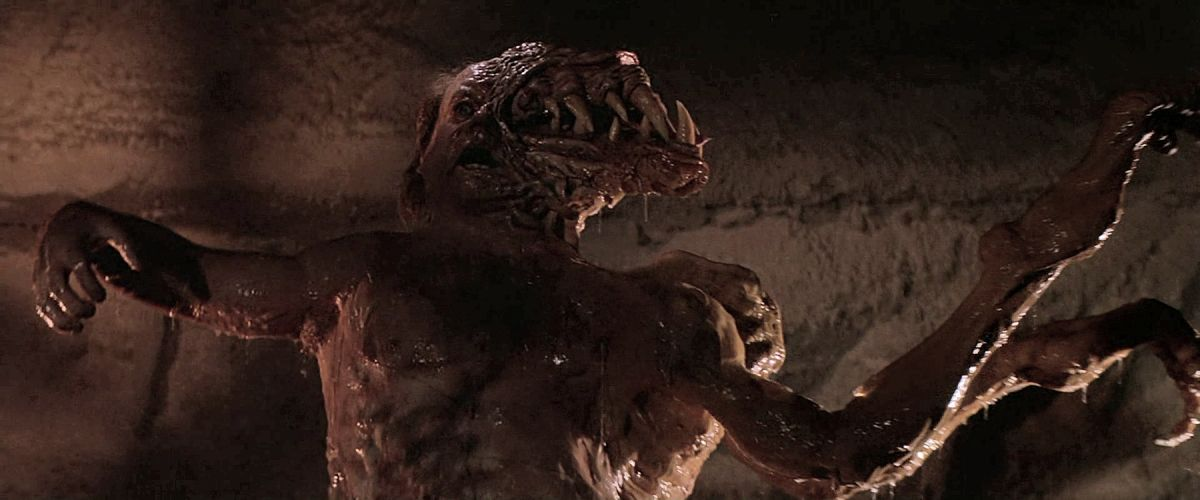 "The ""Blair monster,"" seen at the end of the film in the alien's final guise."