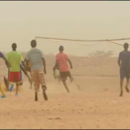 Timbuktu - exterior soccer game without a ball