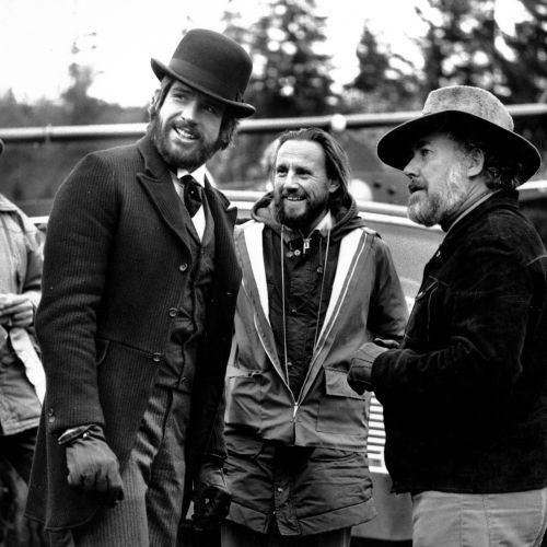 Warren Beatty, Vilmos Zsigmond and Robert Altman