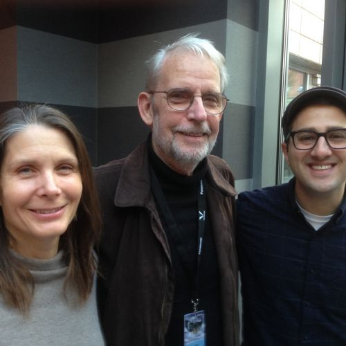 Kim White, Walter Murch and Adam Habib