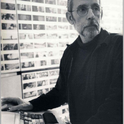 Walter Murch poised to hit an edit point on the fly