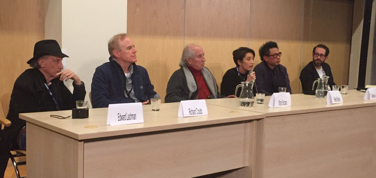 From left, ASC members Ed Lachman, Richard Crudo, Vittorio Storaro, Reed Morano and Matty Libatique share their thought on a Technicolor panel moderated by AC contributor Iain Marcks.