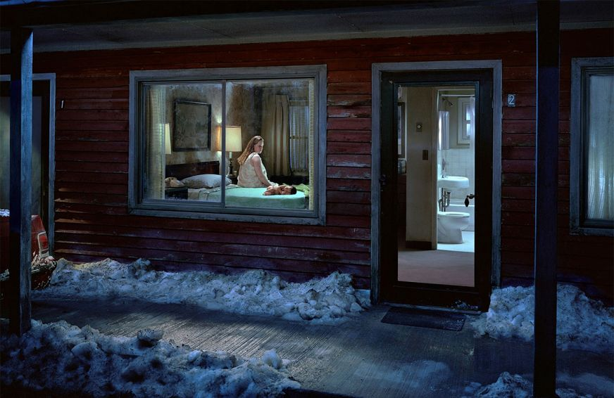 Gregory Crewdson Untitled Birth Beneath The Roses 2007
