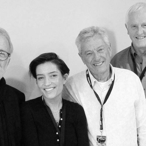 James Plannette, Reed Morano, John Seale, Garrett Brown- k5600 Transvideo panelists at Camerimage 2015 -photo benjaminb